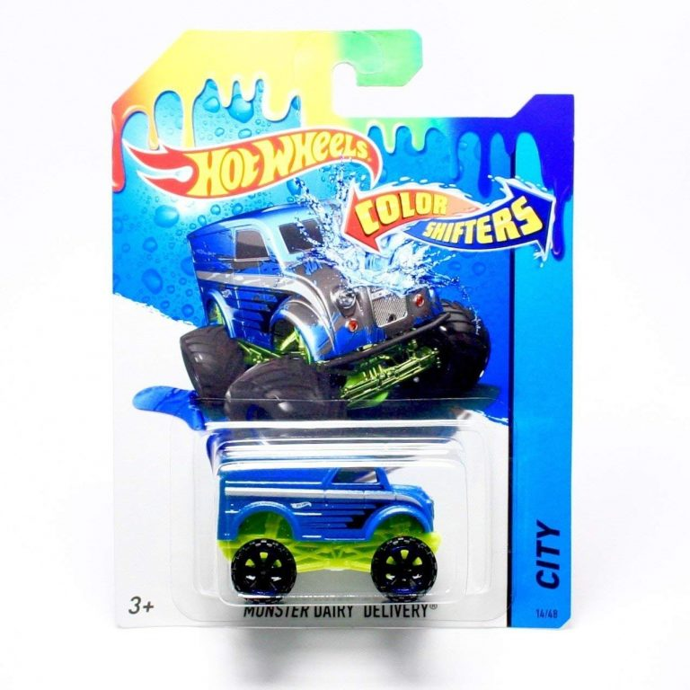Hotwheels Color Shifters Moster Dairy Delivery
