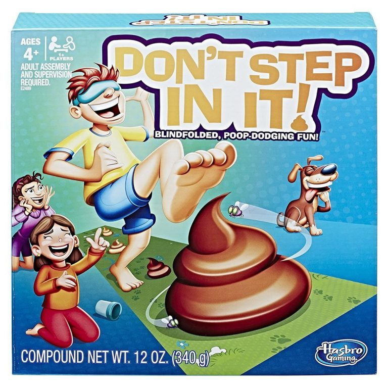 Hasbro Gaming E2489102 Don t Step in It 1