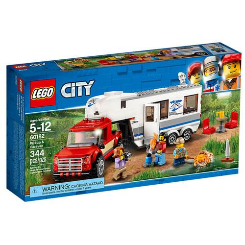 LEGO City 60182 Pickup e Caravana 1