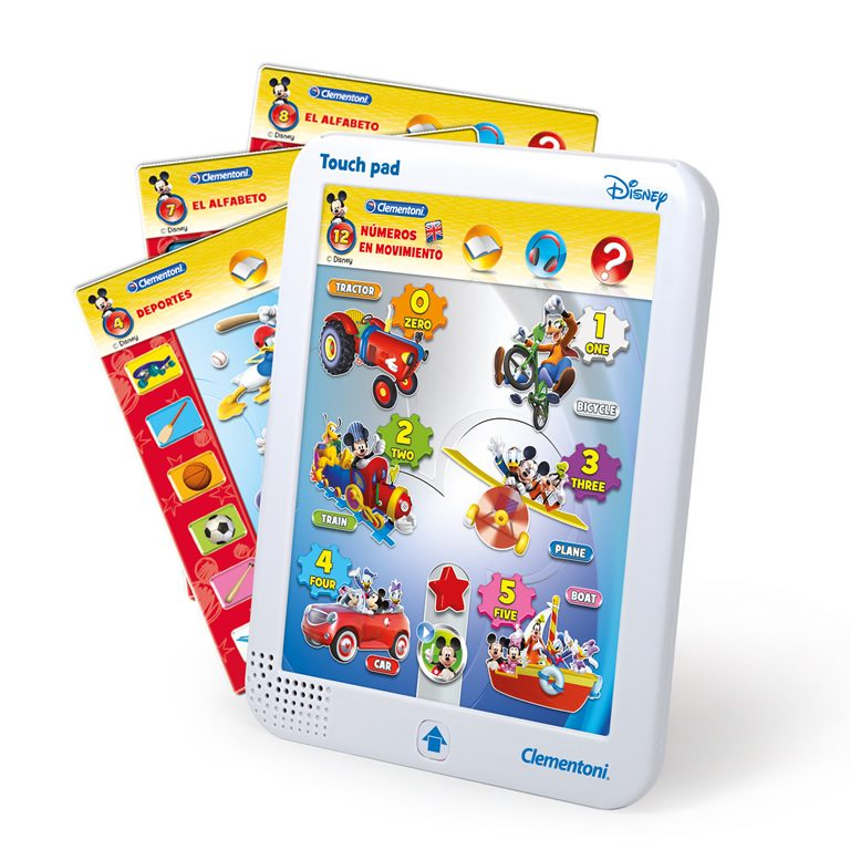 Mickey Touch Pad Clementoni 2