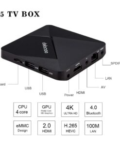 Smart Box TV Android DOLAMEE D5 2