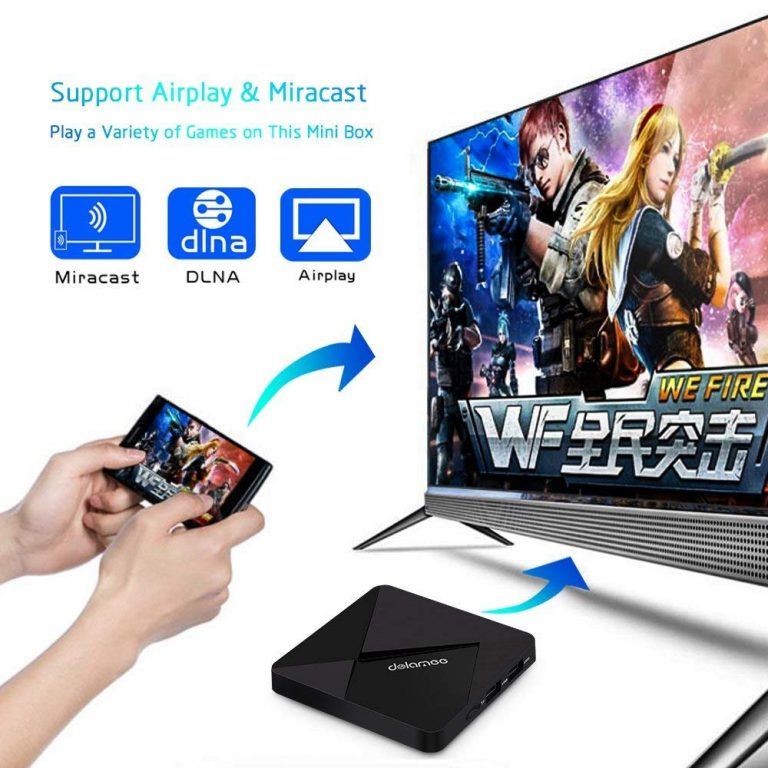 Smart Box TV Android DOLAMEE D5 3