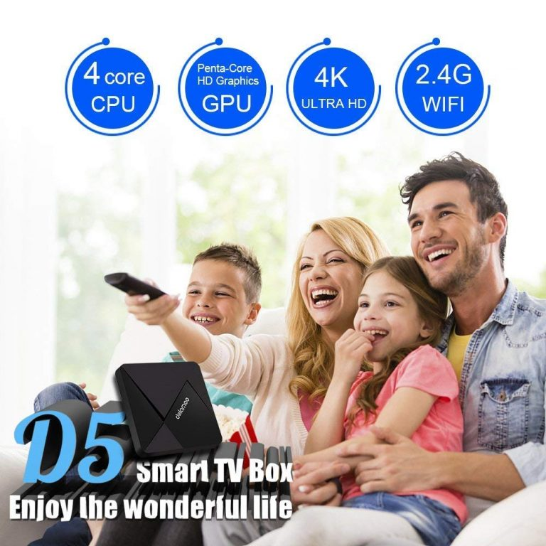 Smart Box TV Android DOLAMEE D5 4