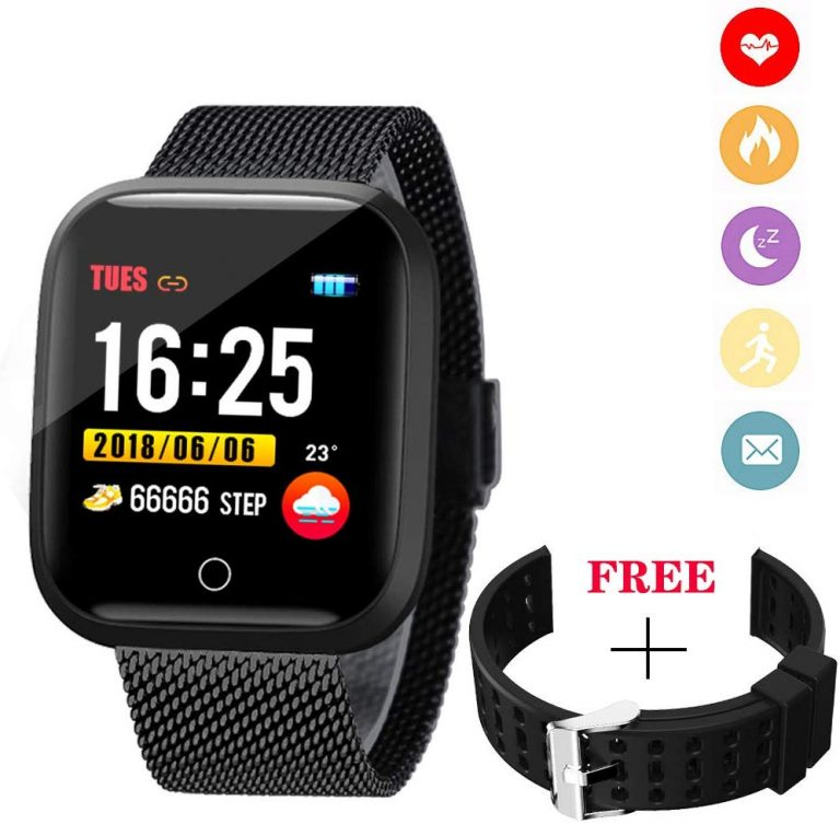 WISHDOIT Smartwatch Bluetooth IP68 Android IOS 1