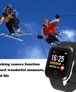 WISHDOIT Smartwatch Bluetooth IP68 Android IOS 3