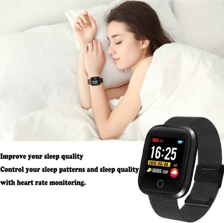 WISHDOIT Smartwatch Bluetooth IP68 Android IOS 4