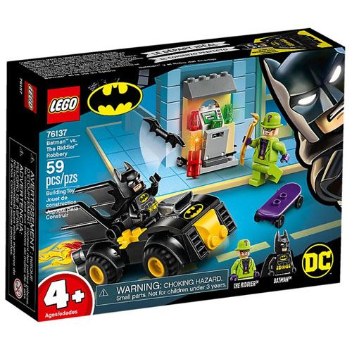 LEGO DC Comics Super Heroes 76137 Batman vs. O Assalto do Riddler 1