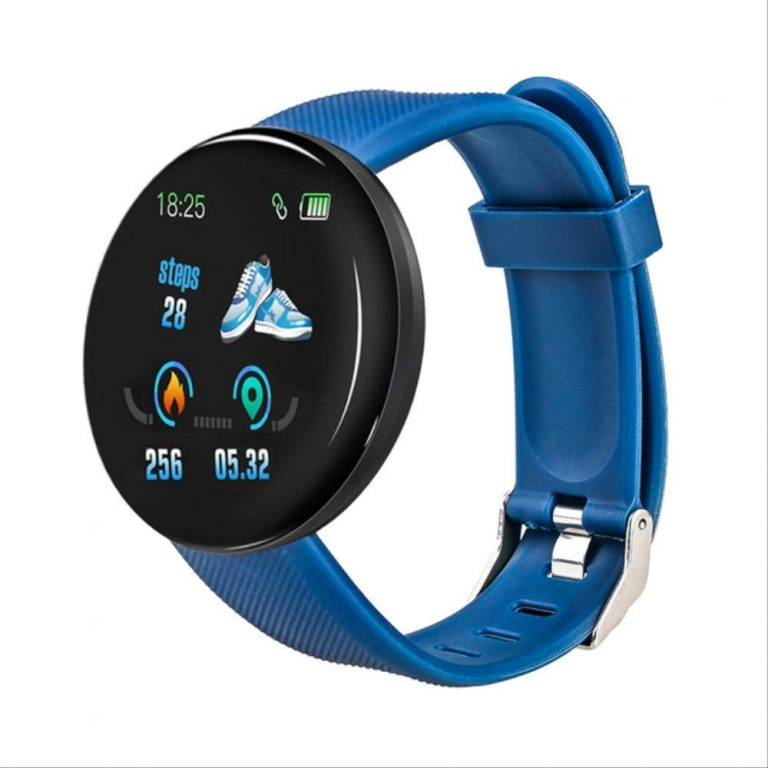 Smartwatch Bluetooth B13 Metal Android iOS Multilingue Azul Blue