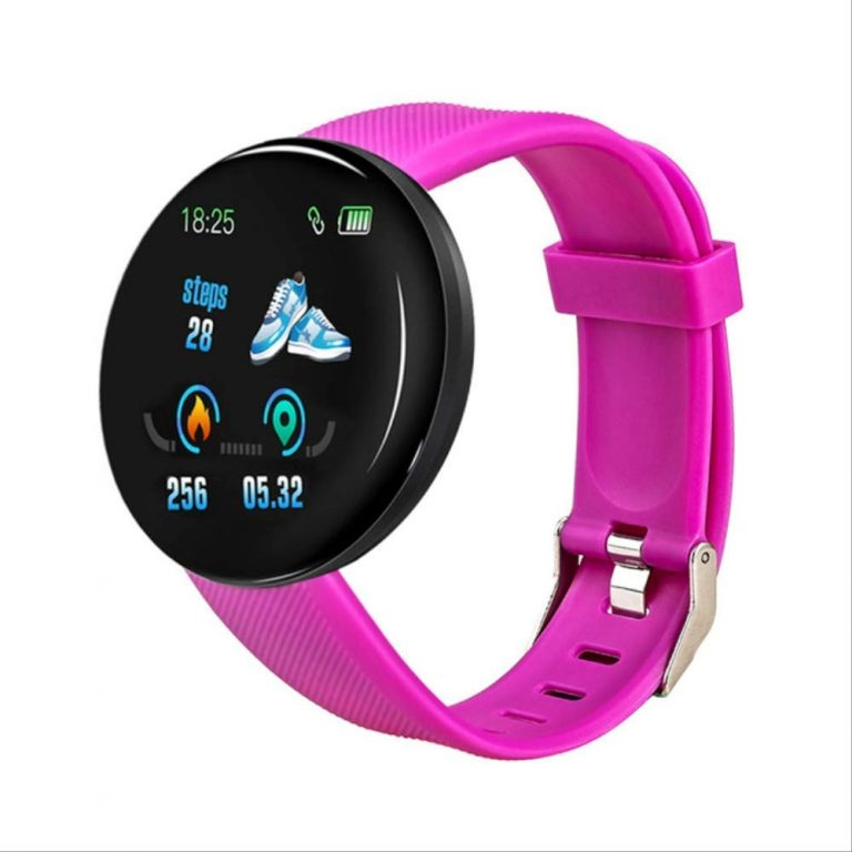 Smartwatch Bluetooth B13 Metal Android iOS Multilingue Roxo Purple