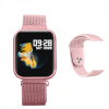 Smartwatch Bluetooth G80 Metal Android iOS Multilingue Rosa – Pink