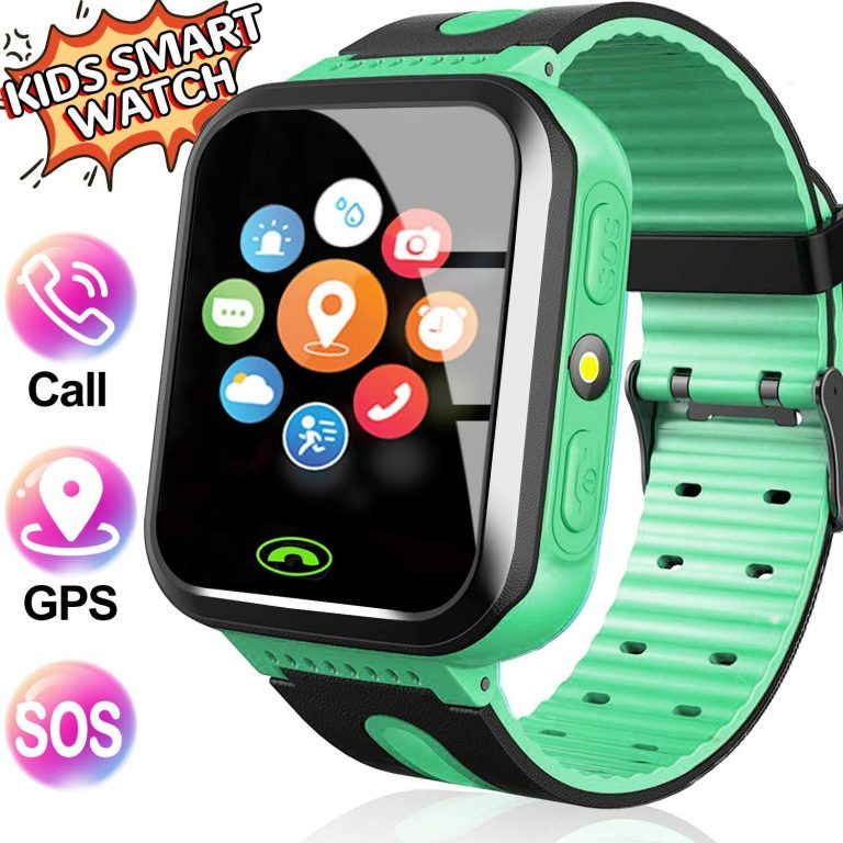 Smartwatch com GPS Flash Night Para Crianças – Safe Keeper Verde1
