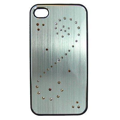 25544 carcasa iphone 4 4s spiral swarovski elements plata