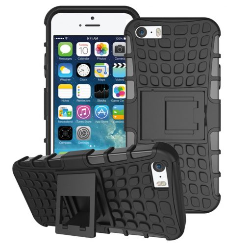 Capa Pneu Anti Choque Resistente para Apple iPhone 5 5s SE 1