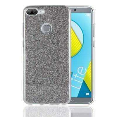 None funda silicona gel honor 9 lite brillo negro