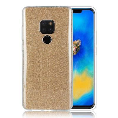 None funda silicona gel huawei mate 20 brillo dorado