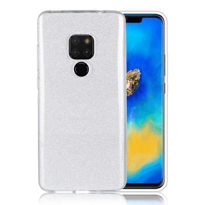 None funda silicona gel huawei mate 20 brillo plata