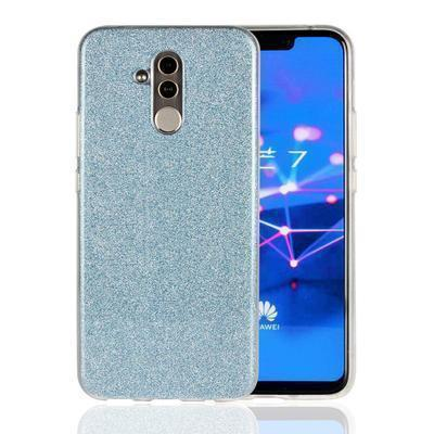 None funda silicona gel huawei mate 20 lite brillo azul