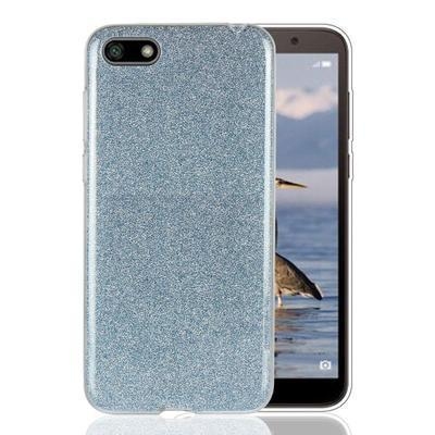 None funda silicona gel huawei y5 2018 honor 7s brillo azul