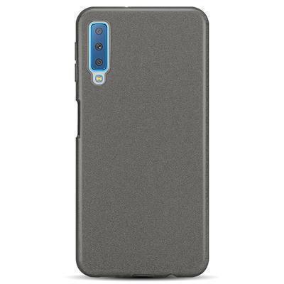 None funda silicona gel samsung galaxy a7 2018 brillo negro