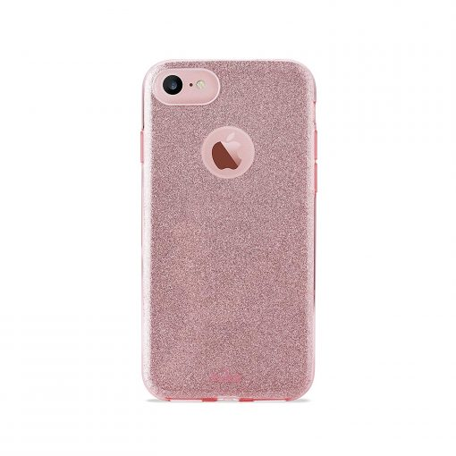 PURO Capa iPhone 6 6s 7 8 Shine Rosa1 1