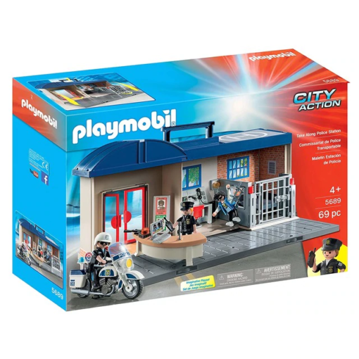 Playmobil City Action Mala Esquadra da Policia 5689 1
