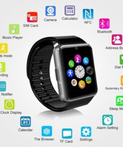 Smartwatch Bluetooth GT08 Android iOS Multilingue 4